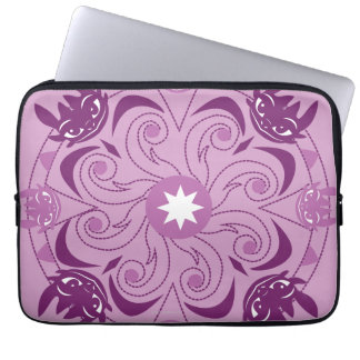 Toothless Purple Icon Laptop Sleeves