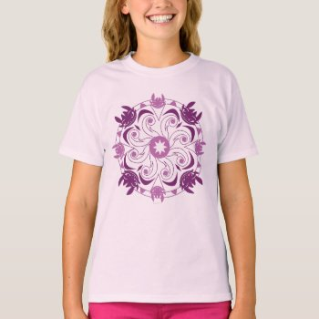 Toothless Purple Icon T-shirt by howtotrainyourdragon at Zazzle