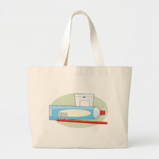 Toothpaste and Brush Tote Bag