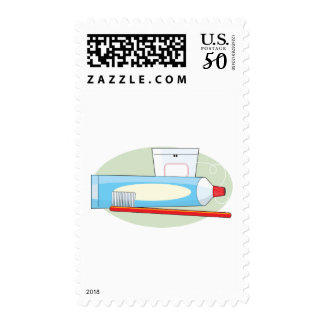 Toothpaste and Brush Postage