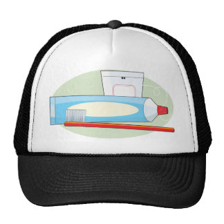 Toothpaste and Brush Trucker Hat