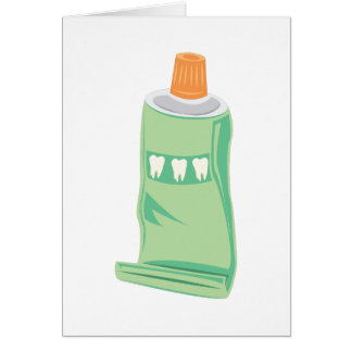 Toothpaste Card