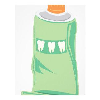 Toothpaste Letterhead
