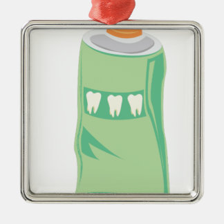 Toothpaste Metal Ornament