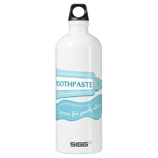 Toothpaste Squeeze for Pearly Whites SIGG Traveler 1.0L Water Bottle