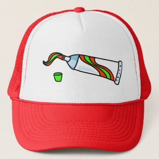 Toothpaste Trucker Hat