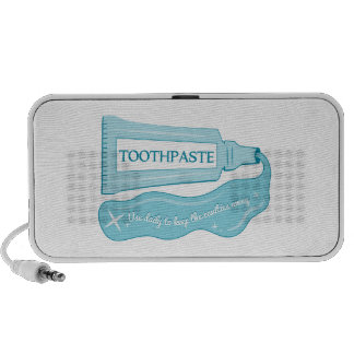 Toothpaste use daily to Keep Cavities Away Travel Speaker
