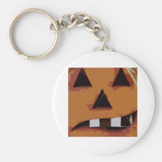 toothy 2 pumpkin keychain