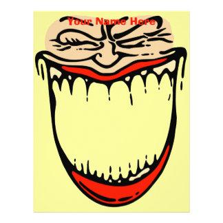 Toothy Grin Letterhead
