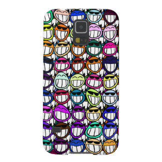 Toothy Grinning Faces, Smiling Faces, Happy Faces Galaxy S5 Cover