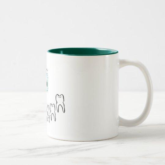 Toothy Smile Two-Tone Coffee Mug