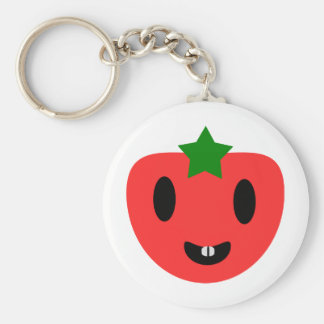 Toothy Tomato Keychain