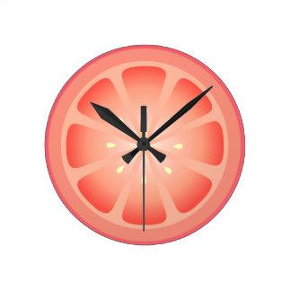 Tootie Fruity Grapefruit Clock