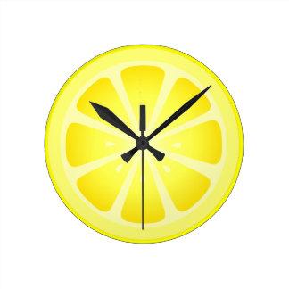 Tootie Fruity Lemon Clock