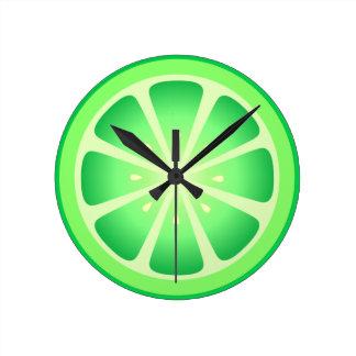 Tootie Fruity Lime Clock