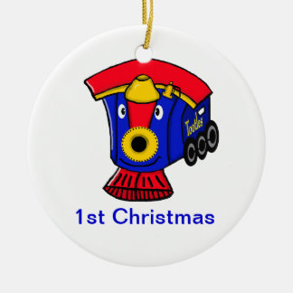 TOOTLES Little Steam Engine Customizable Ornament