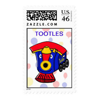 TOOTLES The Little Steam Engine Postage