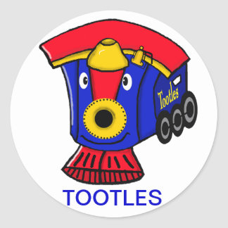TOOTLES The Little Steam Engine Stickers