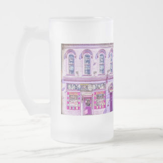 Tootsie's Orchid Lounge Frosted Glass Frosted Glass Beer Mug