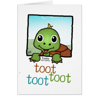 Tooty the Turtle (Pathway Pet) Card