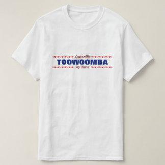 TOOWOOMBA - My Home - Australia; Red & Pink Hearts T-Shirt