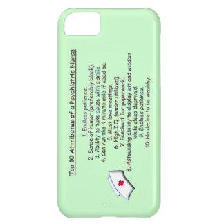 Top 10 Attributes of a Psych. Nurse-Humor iPhone 5C Case