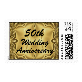 Top 10 Award! 50th Wedding Anniversary Postage