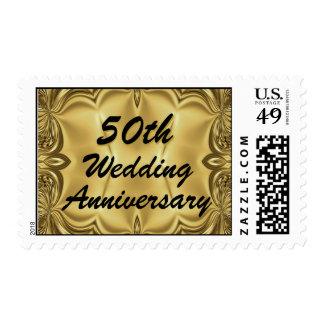 Top 10 Award! 50th Wedding Anniversary Postage