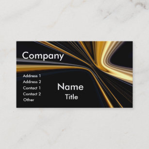 Top 10 business cards templates zazzle top 10 award gold on black business cards colourmoves