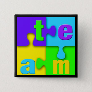 Top 10 Award! Team Puzzle Pins