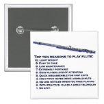 Top 10 de la flauta pin