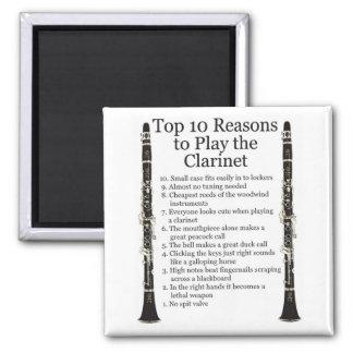 Top 10 del Clarinet Imán Cuadrado
