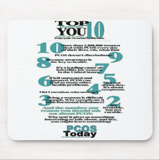 Top 10 PCOS Reasons Mouse Pad