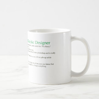 Top 10 Reasons to be a Graphic Designer Coffee Mug