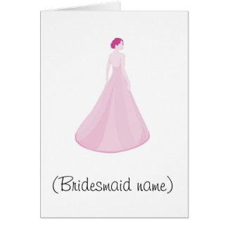 Top 10 reasons to be my bridesmaid greeting card