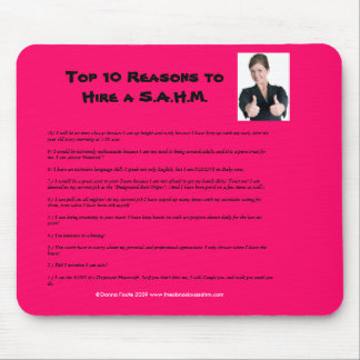 Top 10 Reasons to Hire a S.A.H.M. Mouse Pad