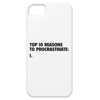 Top 10 Reasons To Procrastinate: 1. iPhone 5 Case