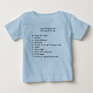 Top 10 Things My Dad             ... T Shirt
