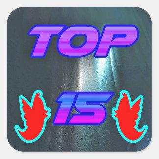 Top 15 - Profile Picture Sticker