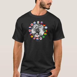 Top 16 Soccer Teams T-Shirt World Cup