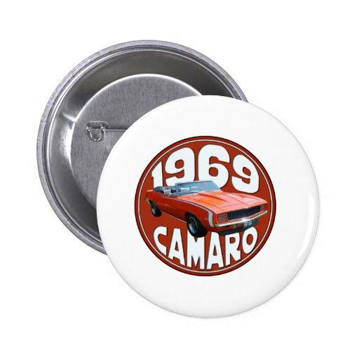 Top 1969 del trapo de Camaro SS del naranja de Smo Pin