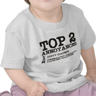 Top 2 Annoyances T-shirt