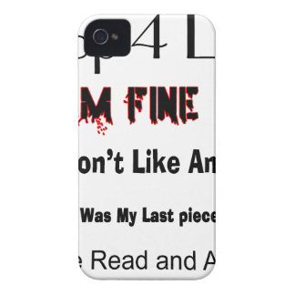 Top 4 Lies iPhone 4 Cover