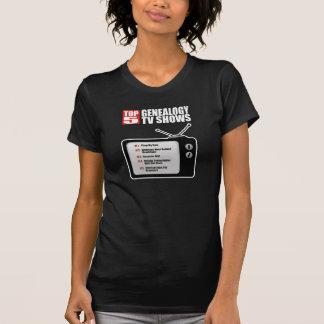 Top 5 Genealogy TV Shows T-shirt