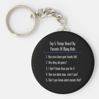 Top 5 Things Heard Keychains