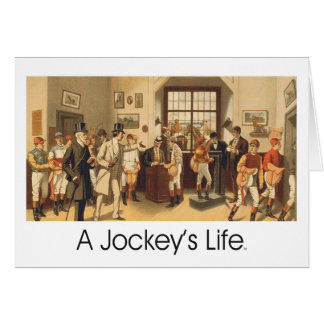 TOP A Jockey's Life Card