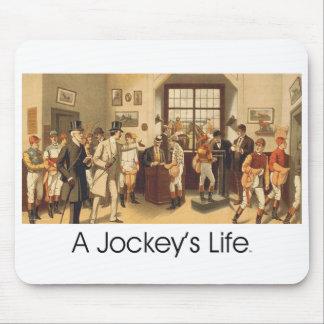 TOP A Jockey's Life Mouse Pad