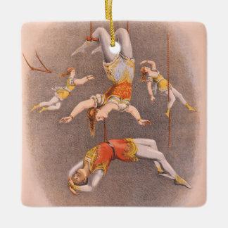 TOP Acrobat in the House Ceramic Ornament