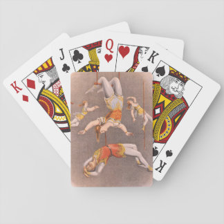 TOP Acrobat in the House Poker Cards