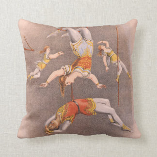 TOP Acrobat in the House Throw Pillow